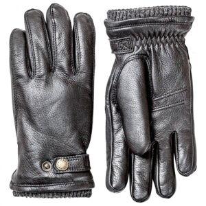 Hestra - Utsjö - Gloves size 9, grey/black