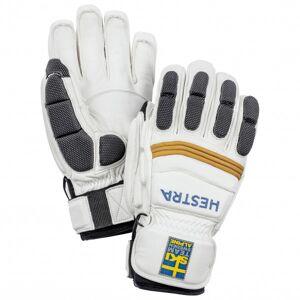 Hestra - Viggen SL 5 Finger - Gloves size 7, grey/white/black
