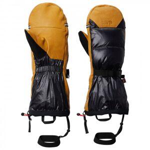 Mountain Hardwear - Absolute Zero Gore-Tex Down Mitt - Gloves size S, black/brown