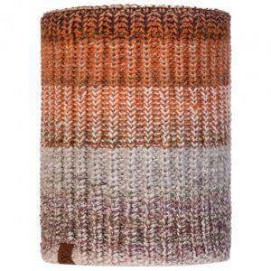 Buff - Knitted & Polar Neckwarmer Olya - Neck warmer size One Size, brown/grey