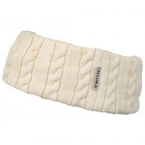 Aclima - Knitted Headband - Headband size One Size, white/sand