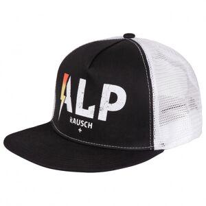 Alprausch - Alp-Blitz Mütze Trucker Cap - Cap size One Size, black/grey