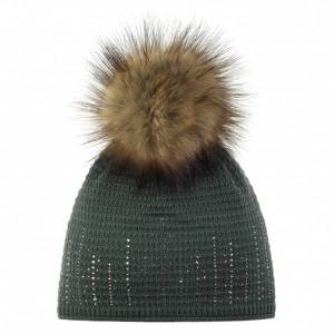 Eisbär - Women's Sintje Lux Crystal - Beanie size One Size, black/brown