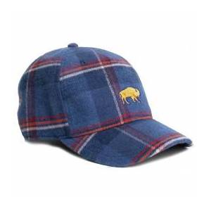 United By Blue - Bison Flannel Hat - Cap size One Size, blue