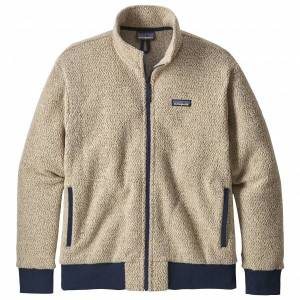 Patagonia - Woolyester Fleece Jacket - Wool jacket size S, sand/grey