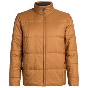 Icebreaker - Collingwood Jacket - Winter jacket size S, brown/sand