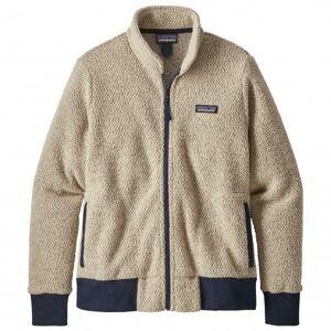 Patagonia - Women's Woolyester Fleece Jacket - Wool jacket size M, sand/grey