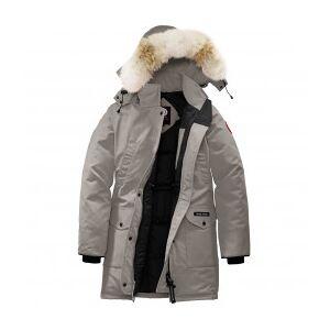 Canada Goose - Women's Trillium Parka - Coat size L, grey/black