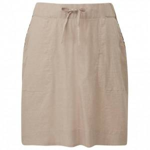 Sherpa - Women's Kiran Skirt - Skirt size L, sand