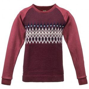 Dolomite - Women`s Knit Hybrid - Jumper size L;XL, grey;purple/red