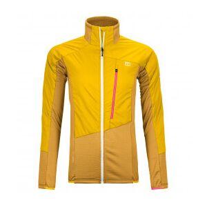 Ortovox - Women's Westalpen Swisswool Hybrid Jacket - Wool jacket size XL, orange