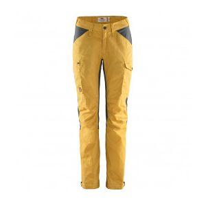 Fjällräven - Women's Kaipak Trousers Curved - Walking trousers size 36 - Fixed Length, orange