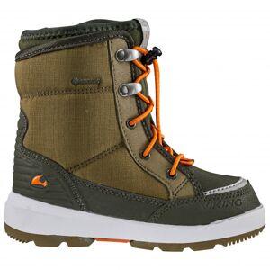 Viking - Kid's Fun GTX - Winter boots size 22;24;25;26;28;29;30;31;32;33, olive/brown;black
