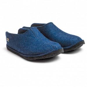 Haflinger - Smily - Slippers size 46, blue/black