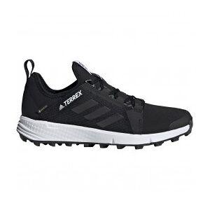 adidas - Women's Terrex Speed GTX - Trail running shoes size 5, black/grey