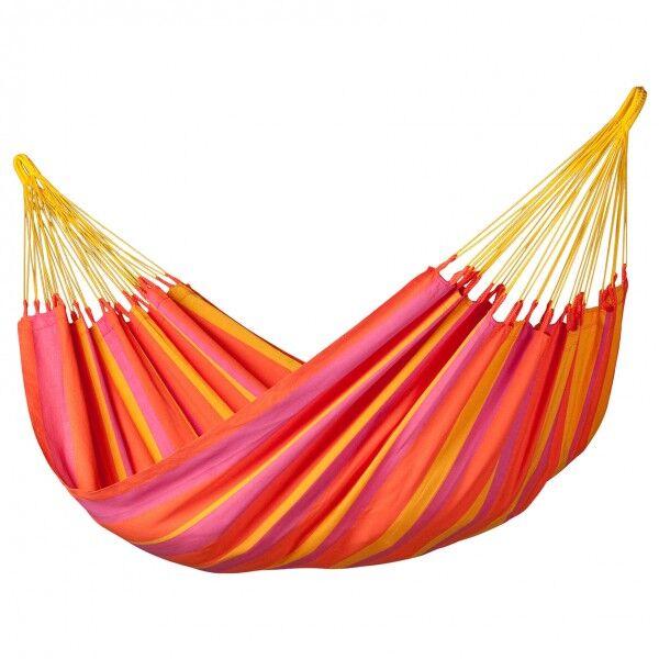 La Siesta - Sonrisa - Hammock size 140 cm x 300 cm, red/orange