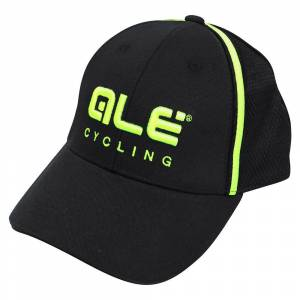 Ale Podio 2.0 Cap One Size Black / Yellow Fluo  - One Size