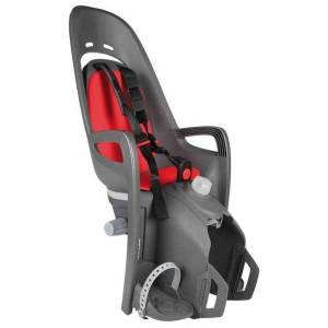 Hamax Zenith Relax Rear Child Bike Seat Max 22 kg Grey / Red  - Max 22 kg