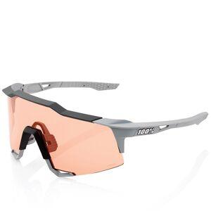 100% Speedcraft Eyewear Set Glasses, Unisex (women / men), Cycle glasses, Bike a  - grey - male