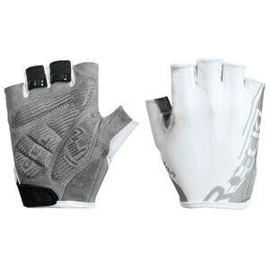 ROECKL Ilova Gloves Cycling Gloves, for men, size 9, Bike gloves, Bike wear  - white/silver - male - Size: 9