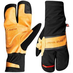 PEARL IZUMI AmFIB Gel Lobster Winter Gloves Winter Cycling Gloves, for men, size