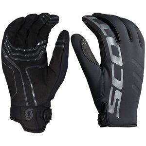 SCOTT Neoprene Winter Gloves Winter Cycling Gloves, for men, size M, Cycling glo  - black - male - Size: Medium