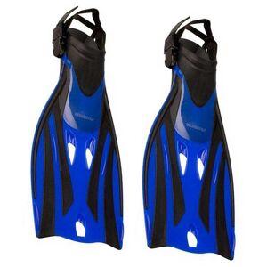 Waimea Swimming Snorkeling Fins EU 27-31 Cobalt Blue / Black