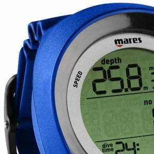 Mares Puck Pro+ Computer One Size Blue / Black