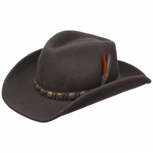 Stetson Hackberry Western Hat by Stetson Col.  brown, size L (58-59 cm)