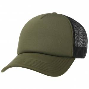Hatshopping 70s Rapper Mesh Cap Col.  olive, size One Size
