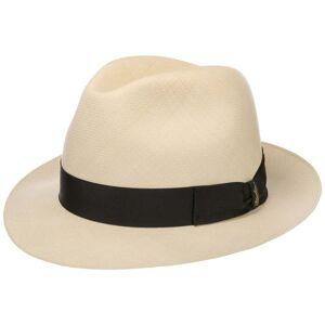 Borsalino Prestige Panama Bogart Hat by Borsalino Col.  nature, size 61 cm