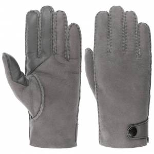 UGG Andreas Leather Gloves by UGG Col.  grey, size M