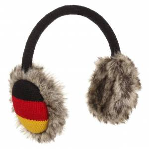 McBURN Germany Ear Warmers by McBURN Col.  black, size One Size