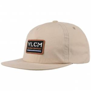 Volcom Nora Snapback Cap by Volcom Col.  oatmeal, size One Size
