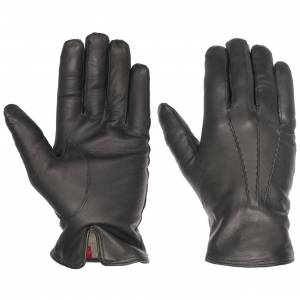 Caridei Classic Nappa Leather Mens Gloves by Caridei Col.  grey, size 8 1/2 HS
