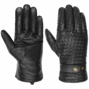 Stetson Sheep Nappa Leather Gloves by Stetson Col.  black, size 9 HS