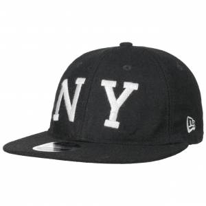 New Era 9Fifty COOP Flannel Yankees Cap by New Era Col.  black, size S/M (54-57 cm)