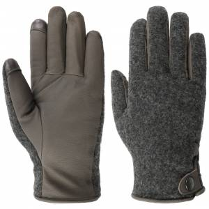 UGG Taylor Leather Gloves by UGG Col.  grey, size L/XL