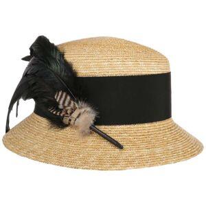 Mayser Monika Straw Hat by Mayser Col.  nature-black, size One Size