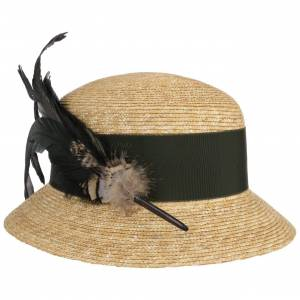 Mayser Monika Straw Hat by Mayser Col.  nature-olive, size One Size