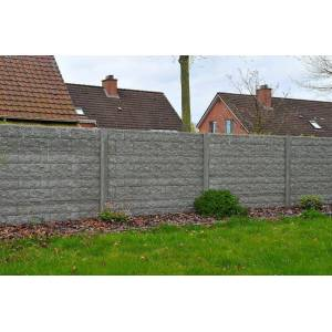 Intergard Concrete fence Rockstone 200x231cm