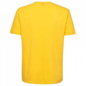 Hummel Hml Go Cotton Logo S Sports Yellow