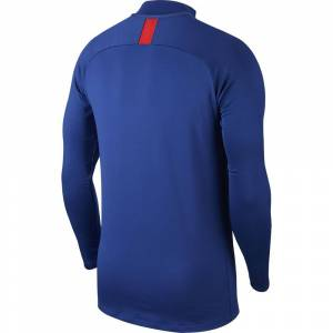 Nike Football Atletico Madrid Dri Fit Strike Drill 19/20 unisex in  Deep Royal Blue / Challenge Red (XS)