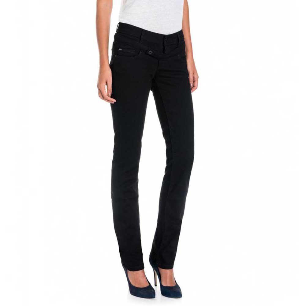 Salsa Jeans Hope Capri Maternity Narrow Leg 30 Black female