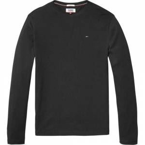 Tommy Jeans Original Ribbed Organic Cotton M Tommy Black male
