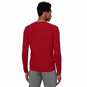 Superdry Supima Cotton Crew XXL American Red male