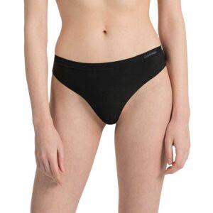 Calvin Klein Underwear Thong S Black female