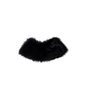 Dolce & Gabbana 721606 Fur Collar 36 Black female