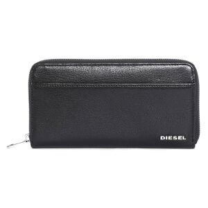 Diesel The Starter 24 Zip Pocket One Size Black / Light Grey male