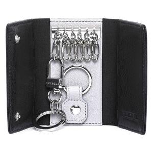 Diesel The Starter Key Case Ii One Size Black / Light Grey male
